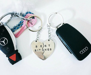 keychain, carkeys, and bestbitches image