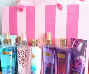 cosmetics, girls, and pink image