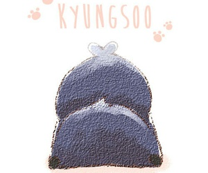 exo, penguin, and kyungsoo image