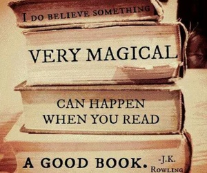 book, magic, and jk rowling image