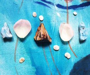 creative, gemstones, and petal image