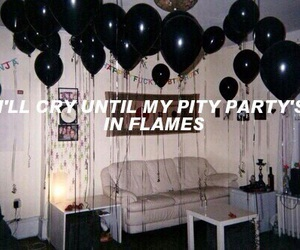 pity party, melanie martinez, and quote image