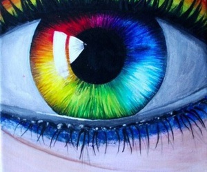 drawing and rainbow image