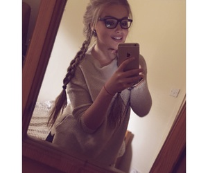 braids, hair, and happy image