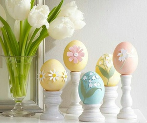 decor, easter, and cute image