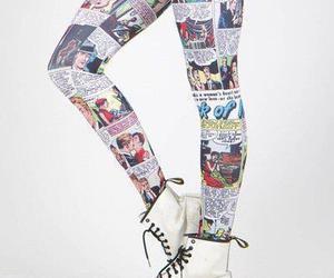 comic, pants, and leggings image