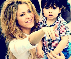 shakira, baby, and milan image