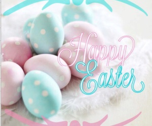 easter, happy easter, and pink image