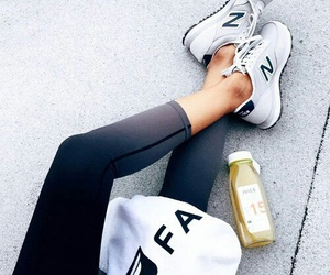fitness, new balance, and shoes image
