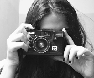 beauty, black and white, and grunge image