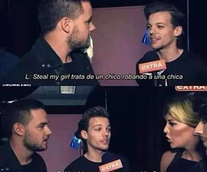 interview, louis, and onedirection image