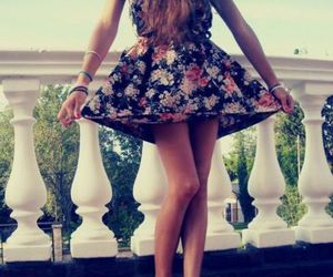 girl, dress, and cute image
