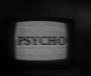 Psycho, grunge, and tv image