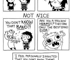 sarah andersen, funny, and band image