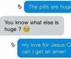 funny, amen, and huge image