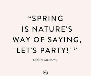 quotes, spring, and nature image