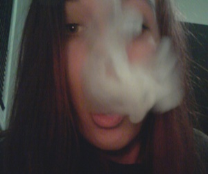 clouds, me, and smoke image