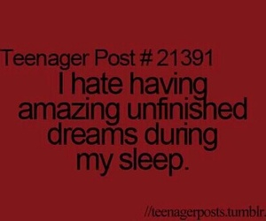 teenager, teenager post, and Dream image