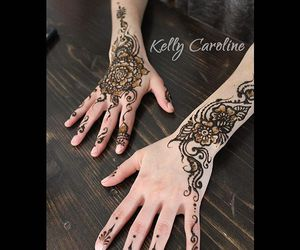 Mehndi Wrist Tattoo : Images about henna tattoo designs on we heart it see more