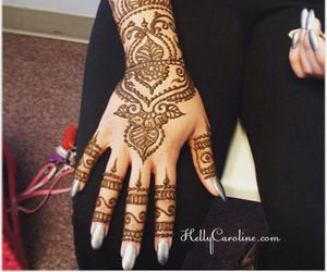 Mehndi Tattoo Flower Designs : 112 images about henna tattoo designs on we heart it see more