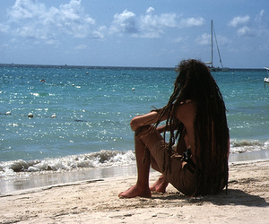 jamaica, rasta, and beach image