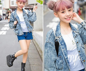 fashion, girl, and japan image