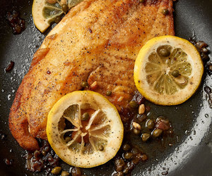 brunch, fish, and food image