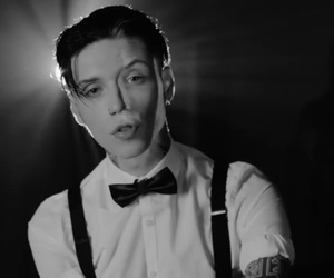andy biersack, andyblack, and we don't have to dance image