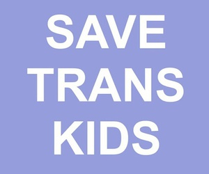 love, kids, and trans image