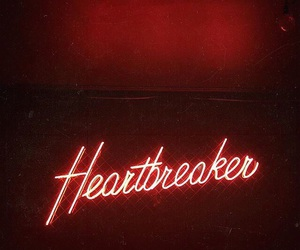 neon, red, and heartbreaker image