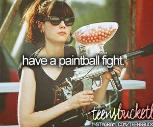 girl and paintball image