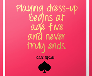 kate spade and quote image