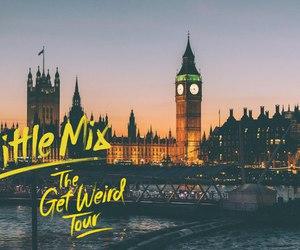 little mix, london, and get weird tour image