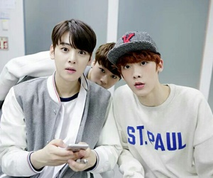 astro, moonbin, and sanha image