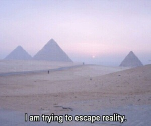 escape, life, and me image