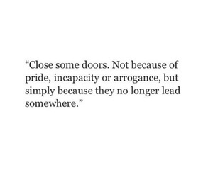 quotes, life, and door image