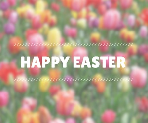 easter and flowers image