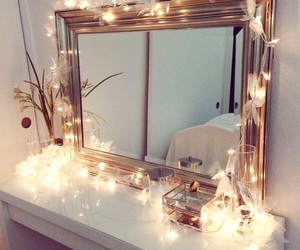 lights, marvelous, and mirrors image