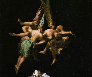 witch, art, and goya image