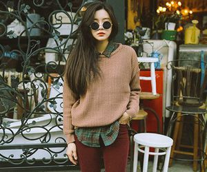 style, outfit, and korean image