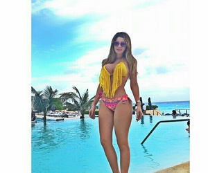 girls, luxury, and cancún image