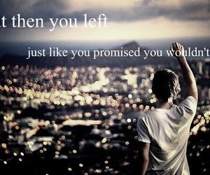 promise, left, and quote image