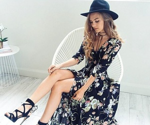 fashion, dress, and beautiful image