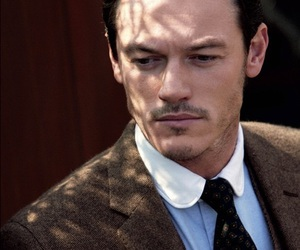 luke evans, handsome, and Hot image