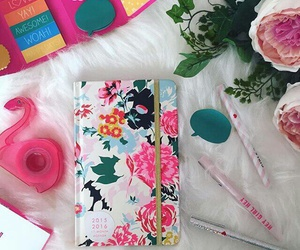 motivation, notebook, and pink image