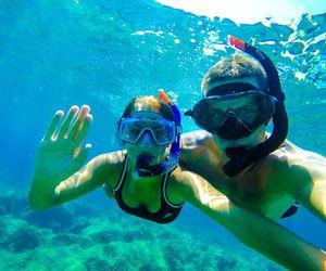 Croatia, hello, and underwater image