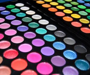 make up, eyes, and eyeshadow image