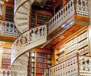 book, library, and italy image