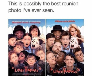 funny, movie, and reunion image