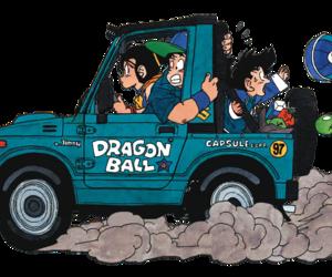 anime, dragon ball z, and dragon ball image